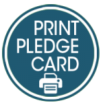 print pledge card button epiphany catholic church