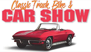 classic car truck bike show graphic